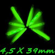 Paladin Classic Knicklichter Durchmesser 4,5mm Länge 39mm Farbe Grün Big Pack 10 Stück im Set
