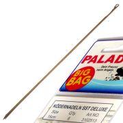 Paladin Ködernadel - Wurmnadel SST DELUX Set Länge 15cm mit verschließbarem Haken 6 Stück im Set ideal fürs Wurm & Köderfisch