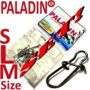 Paladin Spin Snap Einhänger Set in den Größen S,M,L mit 7-10 kg Tragkraft 3 X 15 Stück im Set!