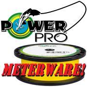 Power Pro geflochtene Angelschnur Hi-Vis Yellow 0,15mm 9kg 125m Meterware
