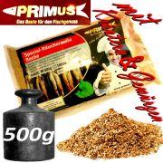 Primus natürliches Spezial Räuchermehl Buche mit Kräutern & Gewürzen ideal für Fleisch & Fisch Gewicht: 500g