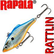 Rapala Rattlin Shad Crankbait Wobbler 7cm 16g Farbe Blue Shad Sinking VMC Hooks