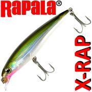 Rapala X-RAP XR-10 Splashbait Wobbler Farbe Olive Green 10cm 13g Suspending VMC Hooks