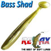 Relax Bass Shad Gummifisch 90mm in Farbe Ayu 5 Stück im Set Barsch & Zanderköder