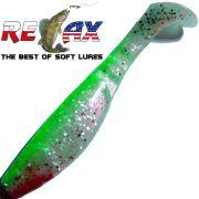 Relax Kopyto Classic 4L 4 Gummifisch 11cm Perl Glitter Grün 1 Stück