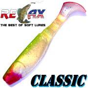 Relax Kopyto Classic 4L 4 Gummifisch 11cm Perl Glitter Grün RT 1 Stück