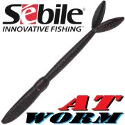 Sebile AT Worm Sinking Gummiwurm 178mm 15g Farbe SP66 6 Stück im Set All Terrain Köder