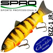 Spro BZZ-1 JR. Swimbait 6 15cm 59g Slow Sinking Yellow Perch