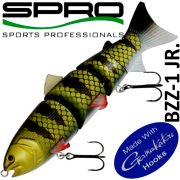 Spro BZZ-1 JR. Swimbait 6 15cm 65g Fast Sinking Wicked Perch