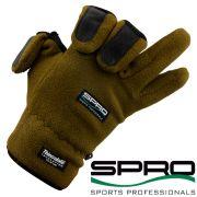 Spro Fleece Angelhandschuh Gr. XL mit 40g Thinsulate und gummierten Handflächen sowie geschlitzten Fingern!