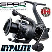 Spro Hypalite Stationärrolle 11100 10+1 Lager 260g 100m/0,33mm 5,1:1 Carbon Titan Body Superleicht!