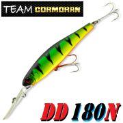 Team Cormoran DD 180N Schleppwobbler 180mm 108g Floating 1 Stück Farbe Fire Tiger