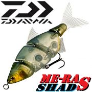 Team Cormoran ME-RA Shad S Wobbler Swimbait 11cm 18g Farbe Clear Ghost Real Swimming Action!