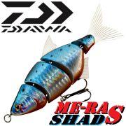 Team Cormoran ME-RA Shad S Wobbler Swimbait 11cm 18g Farbe Metallic Blue Real Swimming Action!