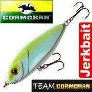 Team Cormoran Micro Jerkman Jerkbait 7cm Blue Chartreuse 12g Sinking