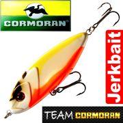 Team Cormoran Micro Jerkman Jerkbait 7cm Yellow Orange 12g Sinking