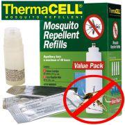 ThermaCell Nachfüllpack R4 für Mückenabwehrgerät 4 X Gaspatrone + 12 Mückenplätchen hält 48 Stunden
