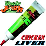 Uncle Josh Little Stinker Aroma Chicken Liver 125g Tube Lockstoff für Welse Welsköder