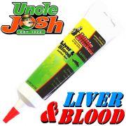 Uncle Josh Little Stinker Aroma Liver & Blood 125g Tube Lockstoff für Welse Welsköder