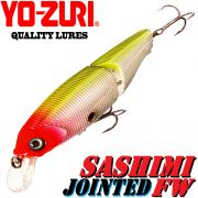 YO-ZURI Sashimi Jointed FW (SP) Wobbler 100mm 20g Suspending Farbe CMC Change Color Barsch&Zander